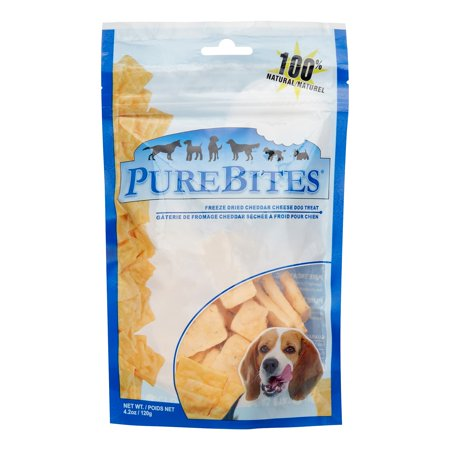 Pure Bites Cheddar Cheese Dog Treats, 4.2 - Cheddar Bites