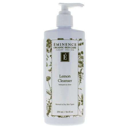 - Eminence Lemon Facial Cleanser, 8.4oz