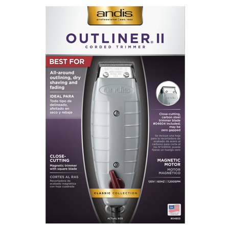 Andis Clippers Professional Outliner II Personal Trimmer Kit 1