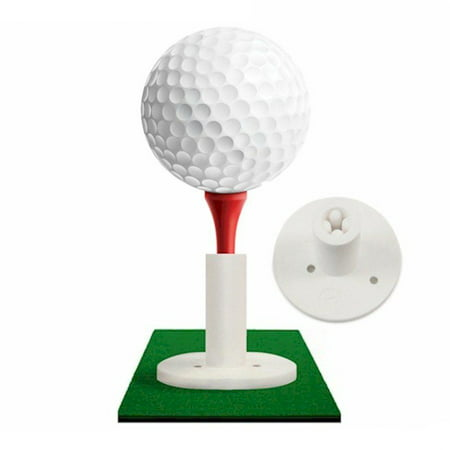 Rubber Golf Tee Holder Wood Tee Adapter For Practice