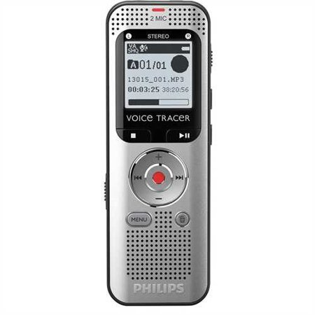Refurbished Philips Voice Tracer DVT2000 With Stereo Recording (Philips Tape Recorder)