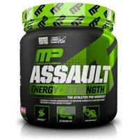MusclePharm Assault Pre Workout Powder, Watermelon, 30 Servings