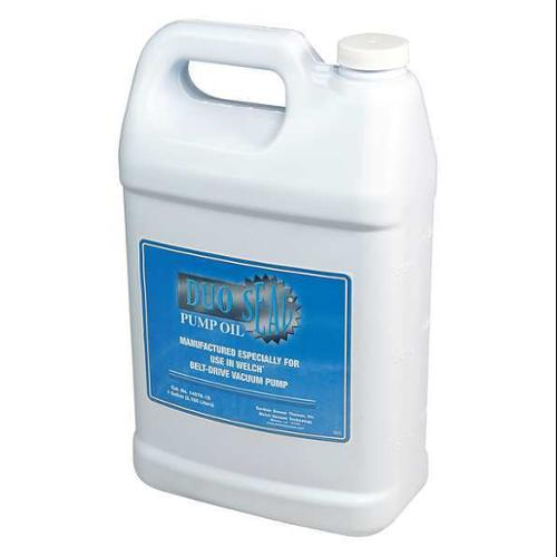 WELCH Vacuum Pump Oil, 1 gal., 0.88 Spec Gravity, 1407K-15
