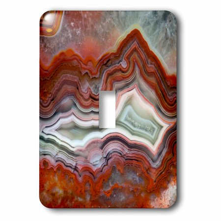 Mexican Lace Agate (3dRose Mexican Crazy Lace Agate - Single Toggle)