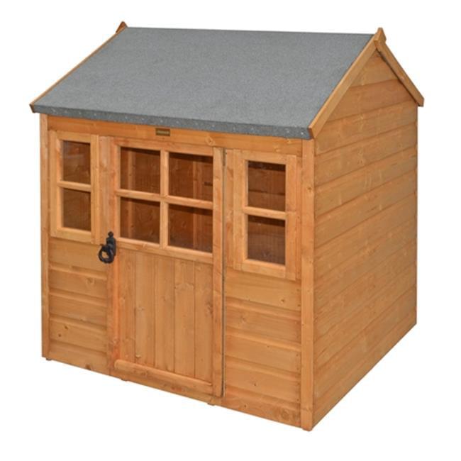 Rowlinson PHLODGE Little Lodge Kids Wooden Play House, Ho...