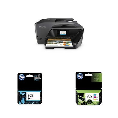 HP OfficeJet Pro 6978 AIO Printer with HP 902 Black and Tri Color Original  Ink Cartridge OfficeJet Pro 6978 All-in-One Printer