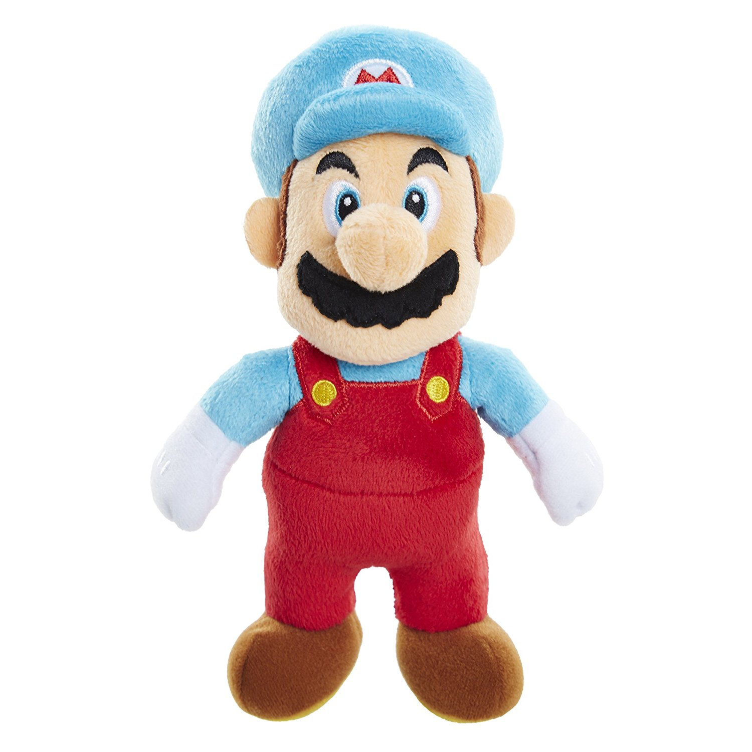 "NINTENDO Ice Mario Plush, Plush figure is 7.5"" tall By World of Nintendo"