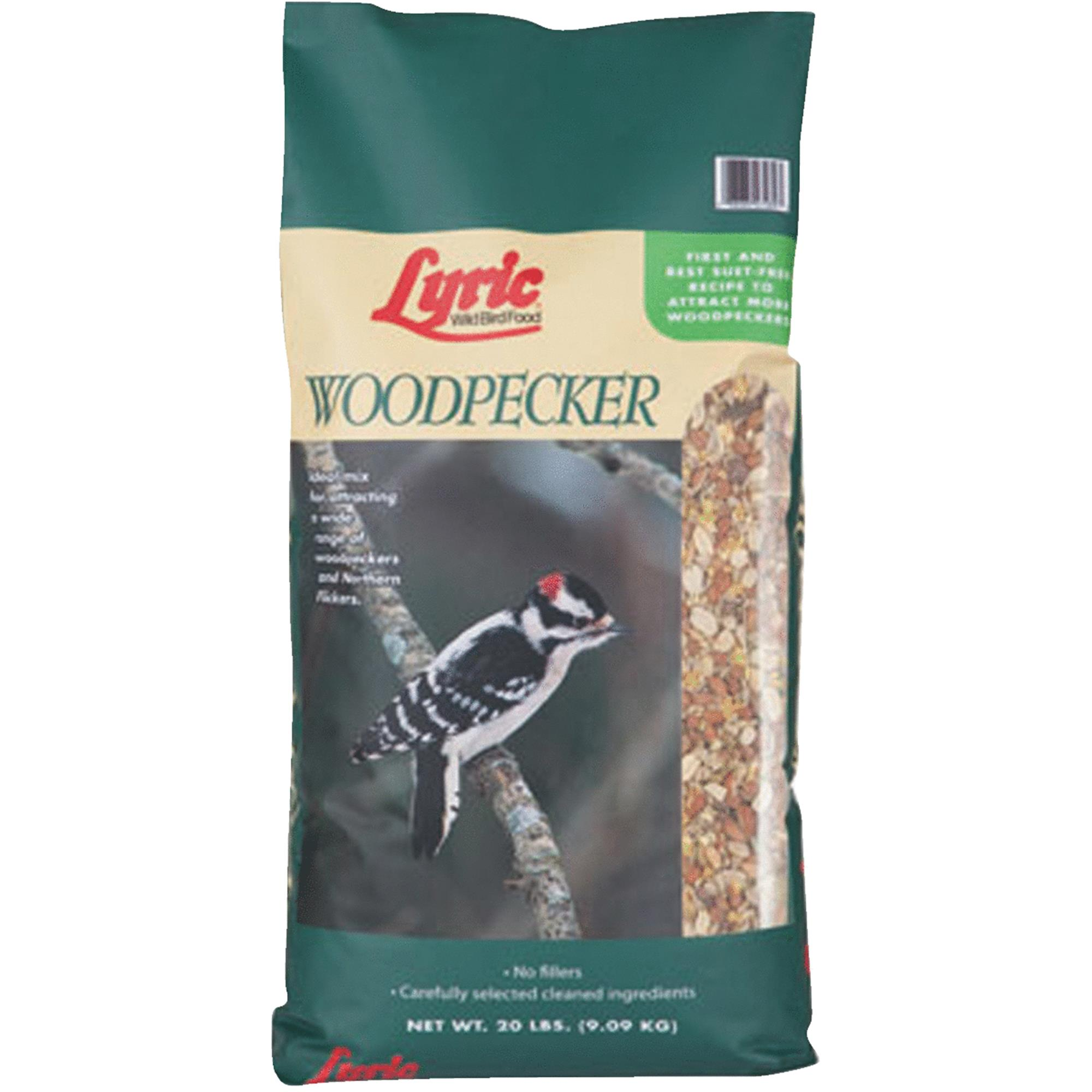 Lyric Woodpecker No Waste Wild Bird Mix - 20 lb. bag