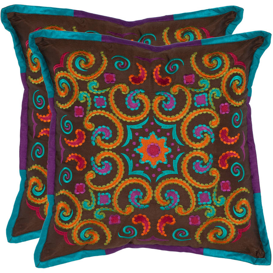 Safavieh Calycopis Abstract Pillow, Set of 2