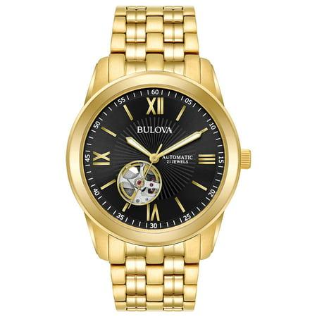 Bulova Men's Classic Goldtone Automatic Watch