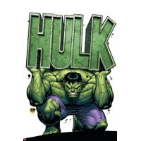 Marvel Adventures Hulk No.4 Cover: Hulk Print Wall Art By David Nakayama