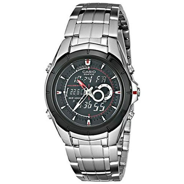 Men's EFA119BK-1AV Ana-Digi Edifice Stainless Steel Watch