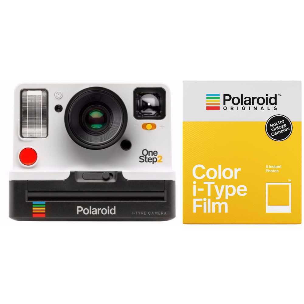 Polaroid Originals 9008 OneStep 2 VF Instant Film Camera with 4668 i-Type Film by Polaroid Originals