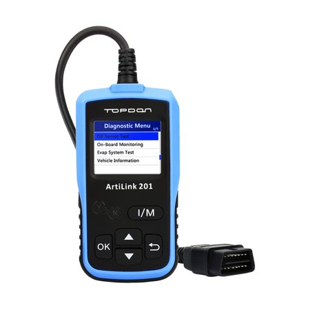 Vehicle Code Reader >> Auto Code Reader Topdon Al201 Obd2 Scanner Car Diagnostic Tool Full Obdii Functions Scan Tool For I M Emission Test On Board Monitoring And Turning