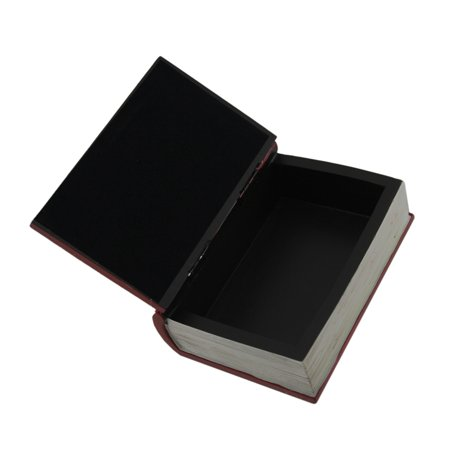 Dark Red Embossed Triquetra Book Look Trinket Box with Hinged Lid - image 1 of 3