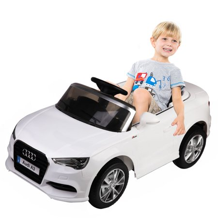 Costway V Audi A Licensed RC Kids Ride On Car Electric Remote - Audi remote control car