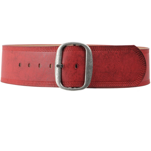 Brinley Co Womens Leather Belt