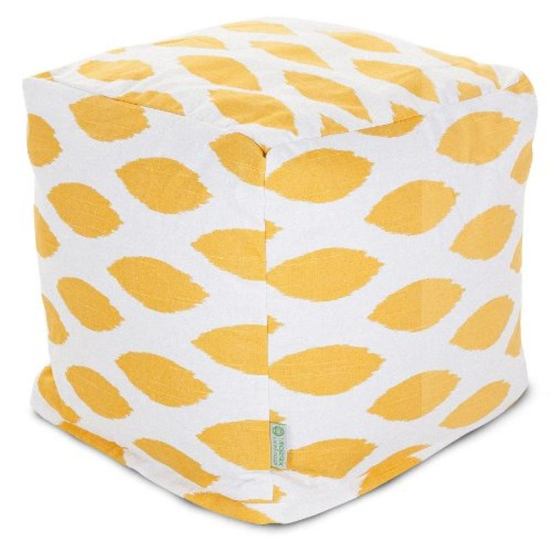 Majestic Home Goods Yellow Alli Small Cube