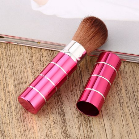 Retractable Face Brush - Professional Retractable Soft Face Cheek Powder Foundation Blush Brush Makeup Cosmetic Beauty Brushes Tools