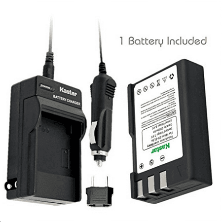 Kastar EN-EL9 Battery (1-Pack) and Charger Kit for Nikon ...