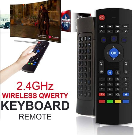Mini Portable Air Mouse & Wireless Remote Control MX3 2.4G Keyboard For Android BOX Smart TV