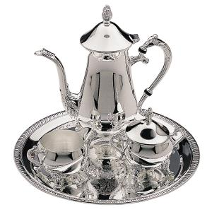 Elegance 4 PIECE SILVER PLATED COFFEE SERVICE