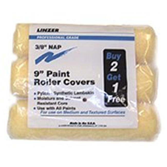 Linzer Products RS1433 Paint Roller Cover Set, 9 In. - 3 Pack - image 1 of 1