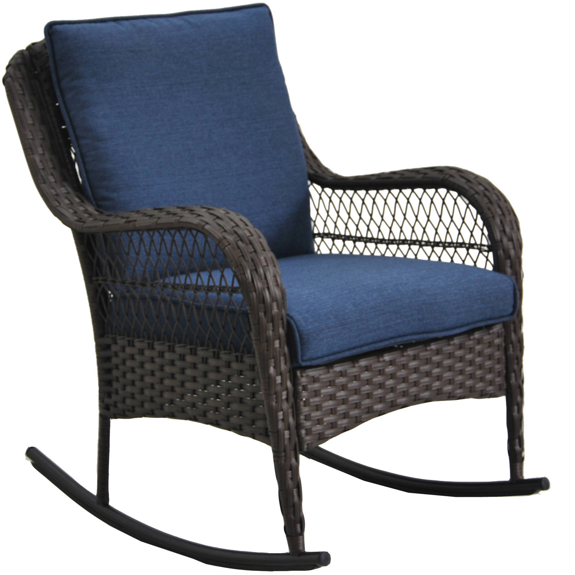 Better Homes U0026 Gardens Colebrook Outdoor Rocking Chair   Walmart.com