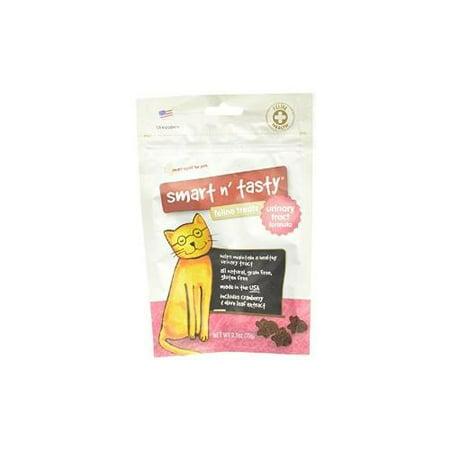 Smart n Tasty Grain libre Cat Urinary Tract Formula Dog Treats, 2,5 multi-couleurs Ounce