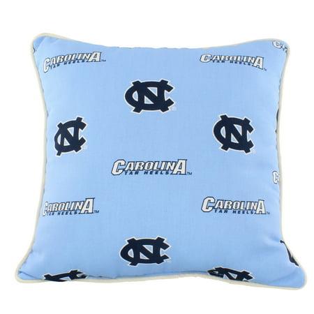 College Covers North Carolina Tar Heels College Covers Indoor Or Outdoor Decorative Pillow 16 In X 16 In Walmart Com Walmart Com