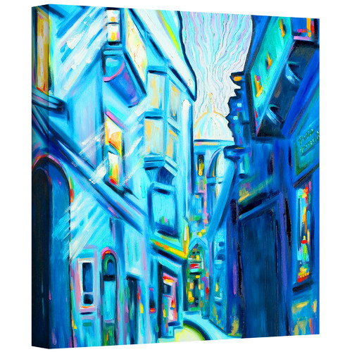 ArtWall ''Magical Alleys of Venice'' by Susi Franco Painting Print on Canvas
