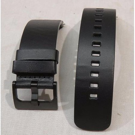 Motorola Moto 360 Smart Watches Leather Replacement Band Strap Black