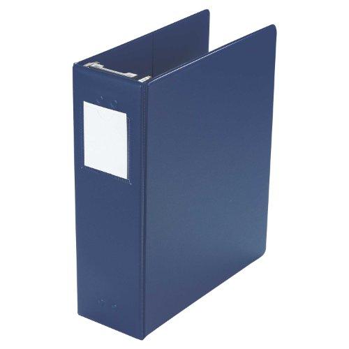 "Large Capacity Hanging Post Binder, 2"" Cap, Blue"