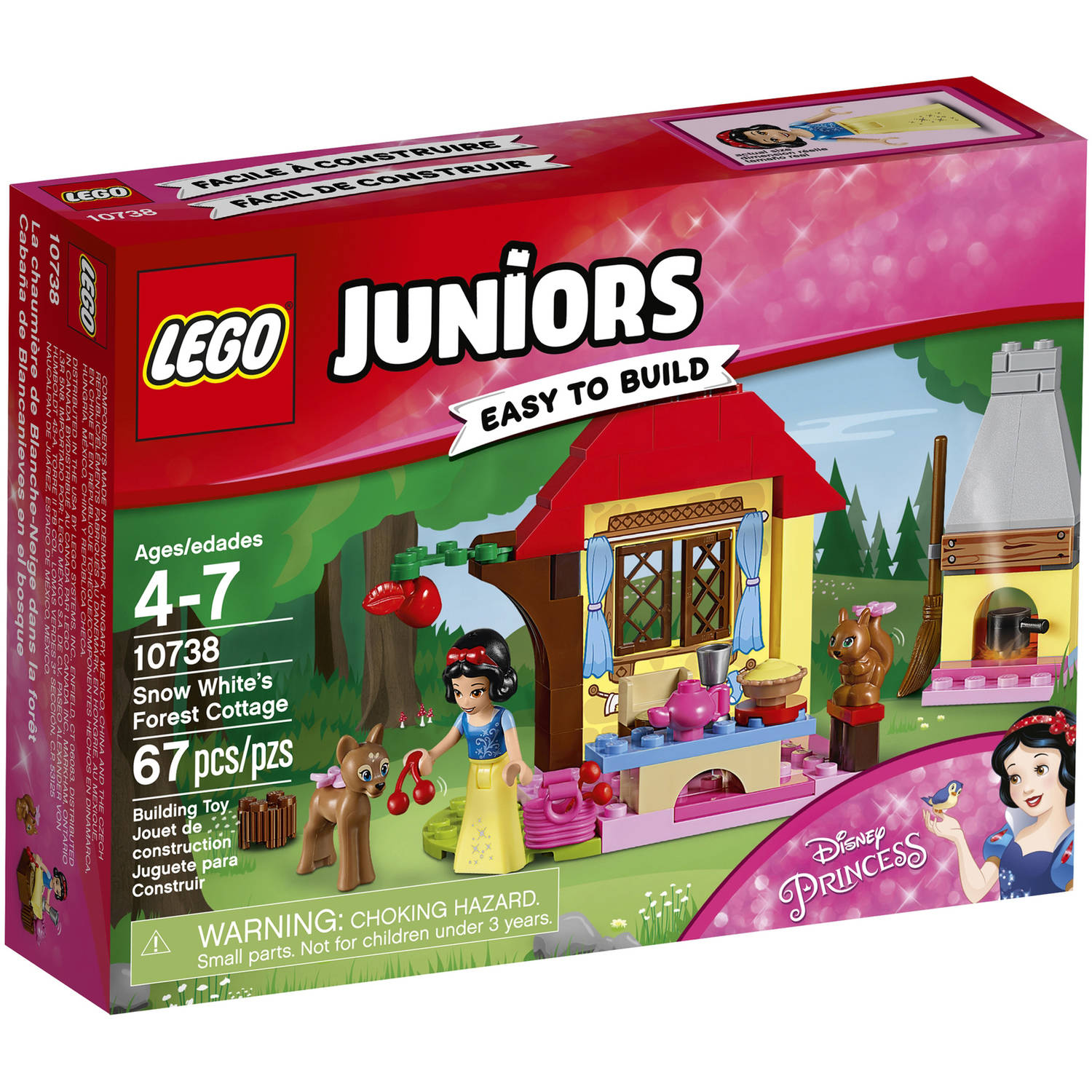 LEGO Juniors Snow White's Forest Cottage 10738