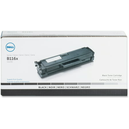 Dell, DLLYK1PM, Dell B116 Toner Cartridge, 1 / (Jet Dell Toner)