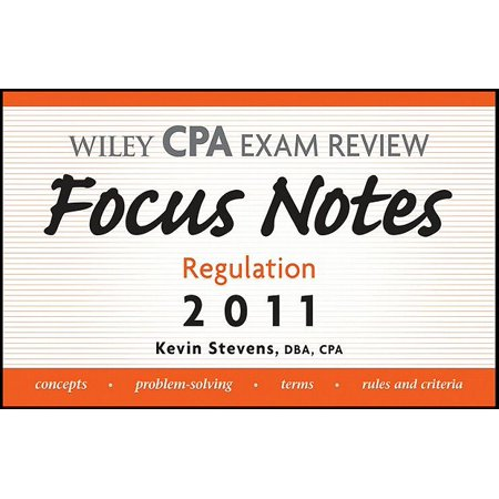 Wiley CPA Examination Review Focus Notes - eBook - Walmart com