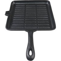 Ozark Trail Square Cast Iron Griddle w/ Handle