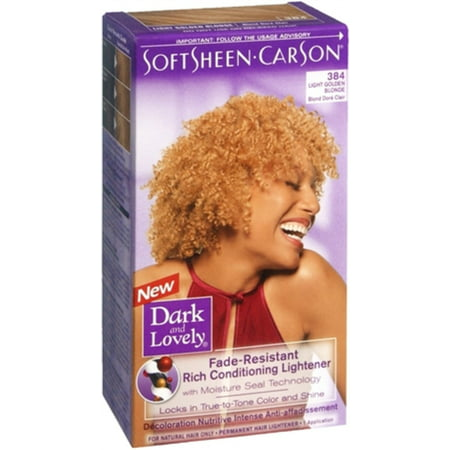 Conditioning Lightener (Dark and Lovely Fade Resistant Rich Conditioning Lightener, [384] Light Golden Blonde, 1 ea )