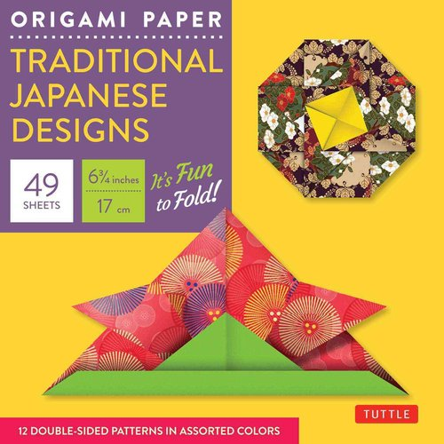 Origami Paper Traditional Japanese Designs Small