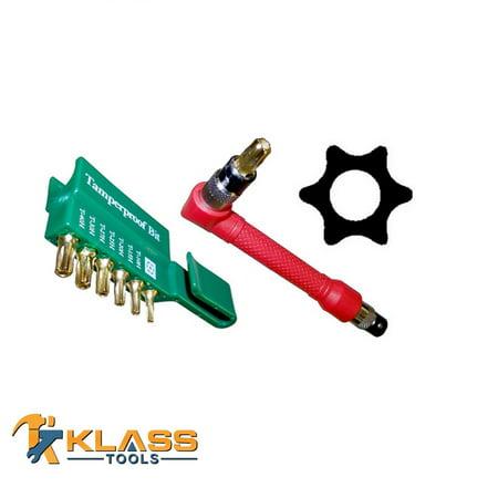 Offset Drill (9 pc Offset Tamper Star Bit )