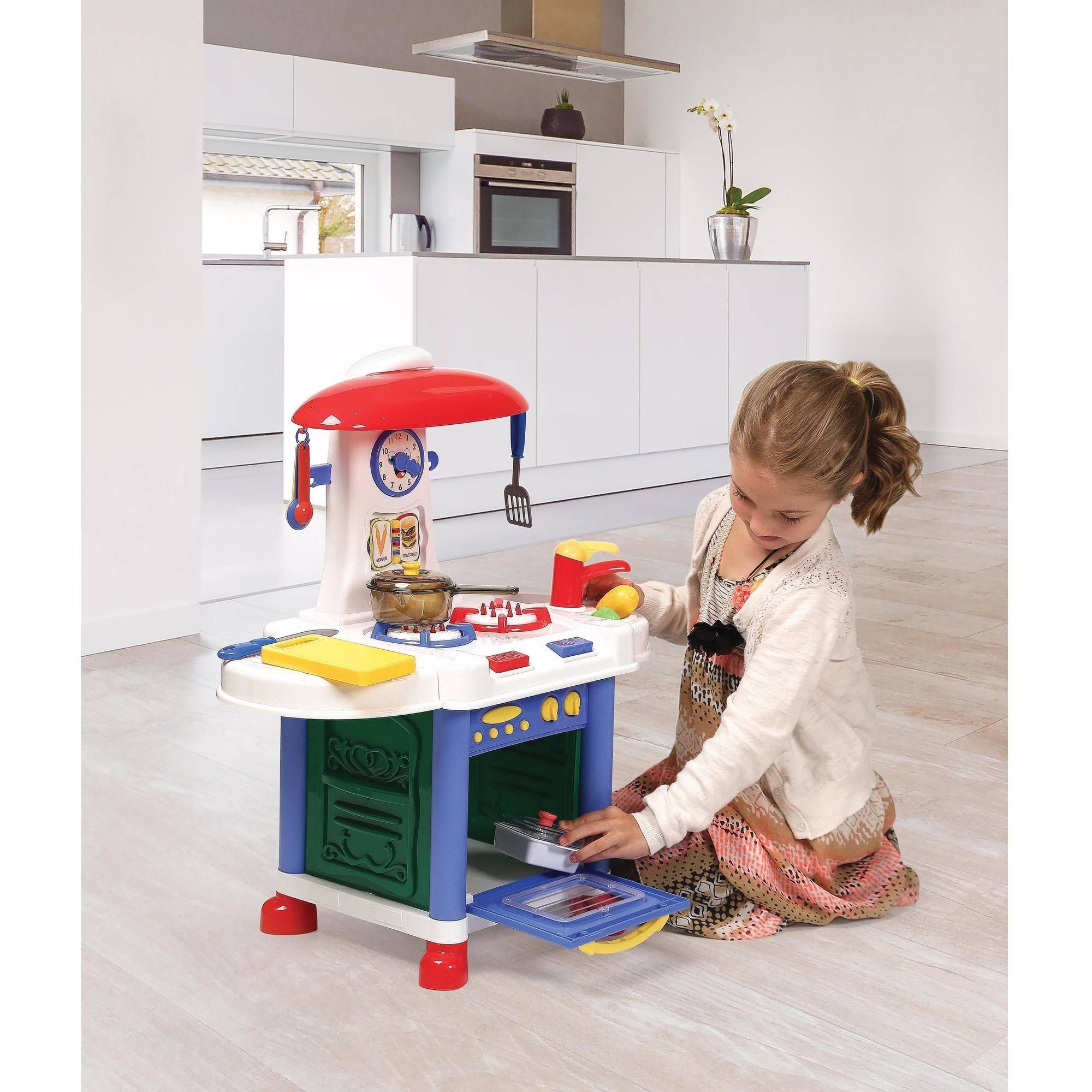 Play Kitchen Accessories badger basket junior electronic play kitchen with accessories