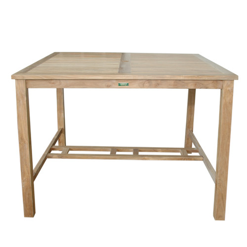 Anderson Teak Windsor Square Pub Table by Anderson Collection
