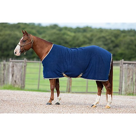 Rambo Newmarket Fleece Cooler - Amigo Mio Fleece Cooler 75 Navy/Tan