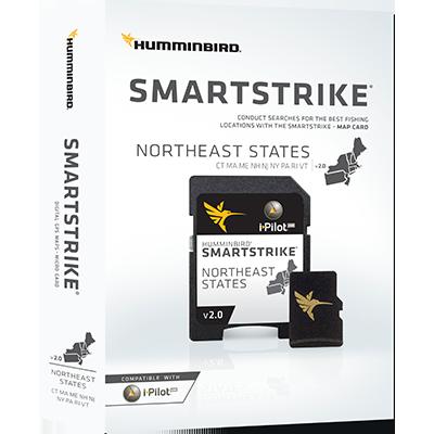 Humminbird 600048-2 SmartStrike Maps, Northeast States