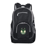 NBA Milwaukee Bucks Premium Laptop Backpack with Colored Trim