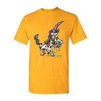 Zombie Unicorn Undead Animals Adult DT T-Shirt Tee