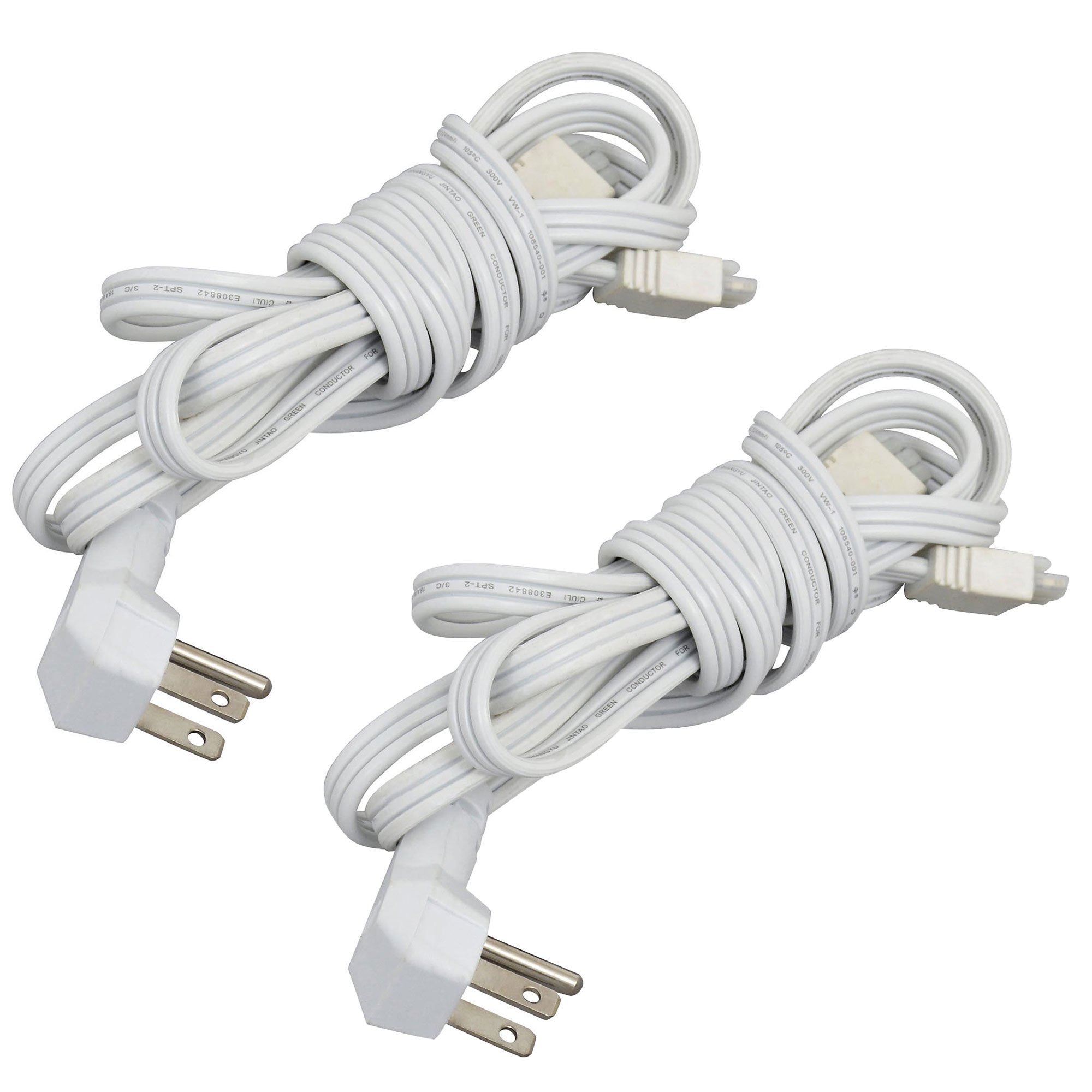 Sylvania LIGHTIFY Power Cord for LED Under Cabinet Smart Lighting (2 Pack)