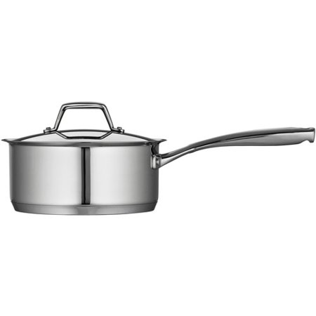 Tramontina Gourmet Prima 3-Quart Covered Sauce Pan with Tri-Ply Base