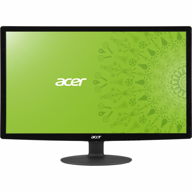 "Acer 24"" Widescreen LED Monitor (S241HL bmid Black)"