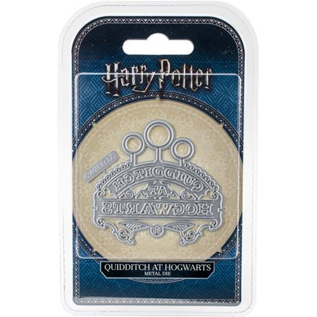 Quidditch At Hogwarts - Harry Potter Embellishment Dies
